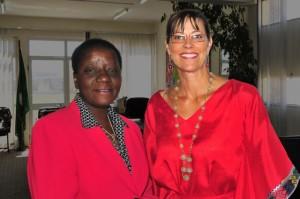 Bience Gawanas & Suzanne F Stevens