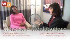wisdom exchange tv interview on conscious contributions