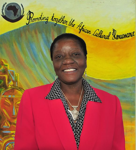Bience Gawanas, past Commissioner, African Union