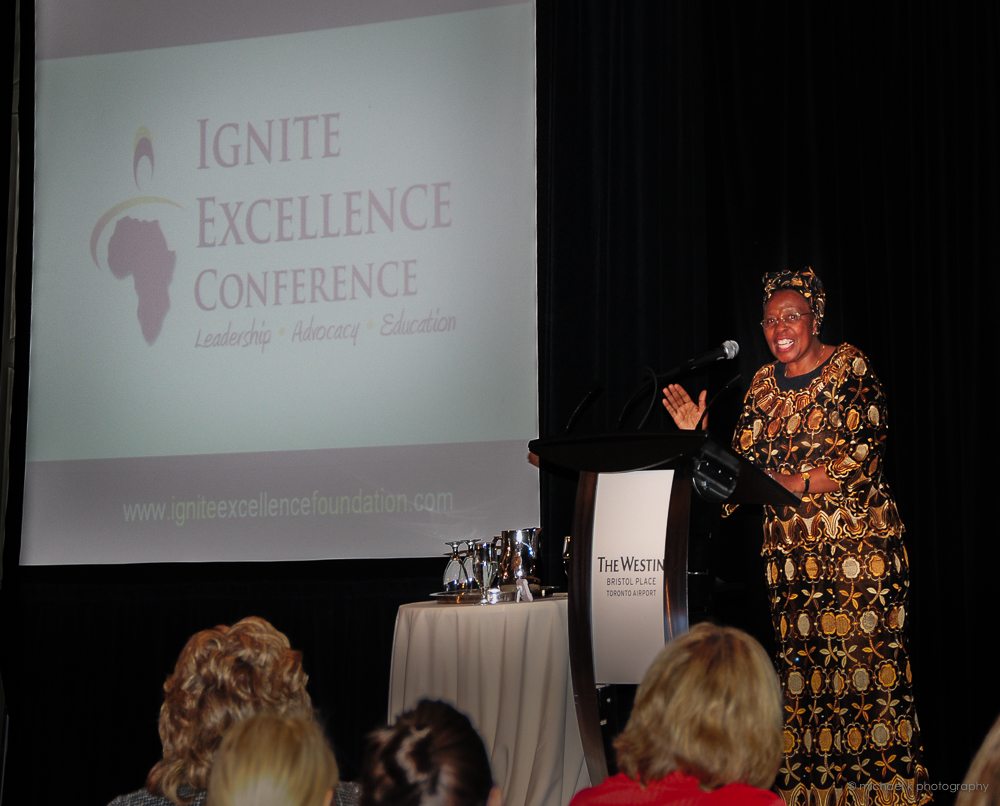 Leah Ngini at Ignite Excellelnce Conference (YouMeWe Conferences)