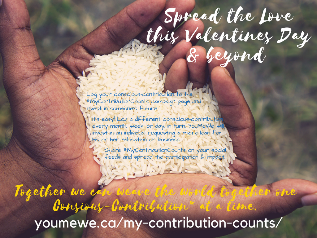 MyContributionCounts Campaign #YouMeWeMovement