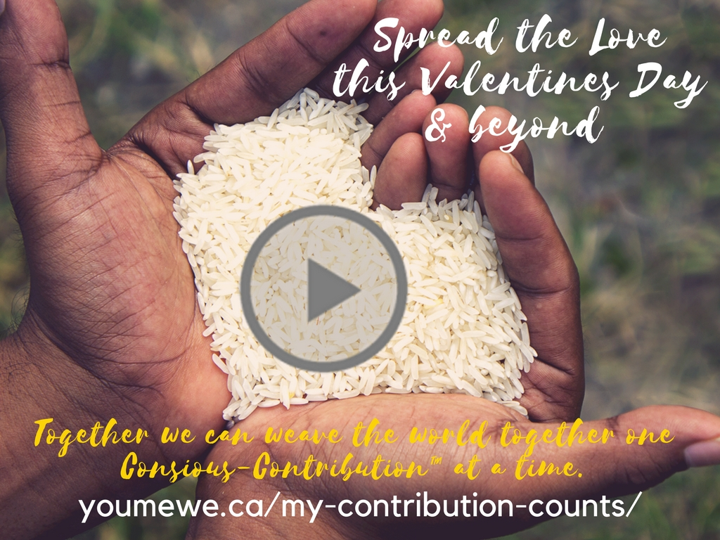 weWednesday: Be someone else's Valentine – spread the love