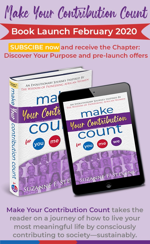 make your contribution count book