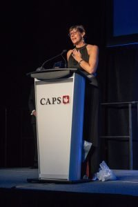 Suzanne F. Stevens receives the Philanthropy Award