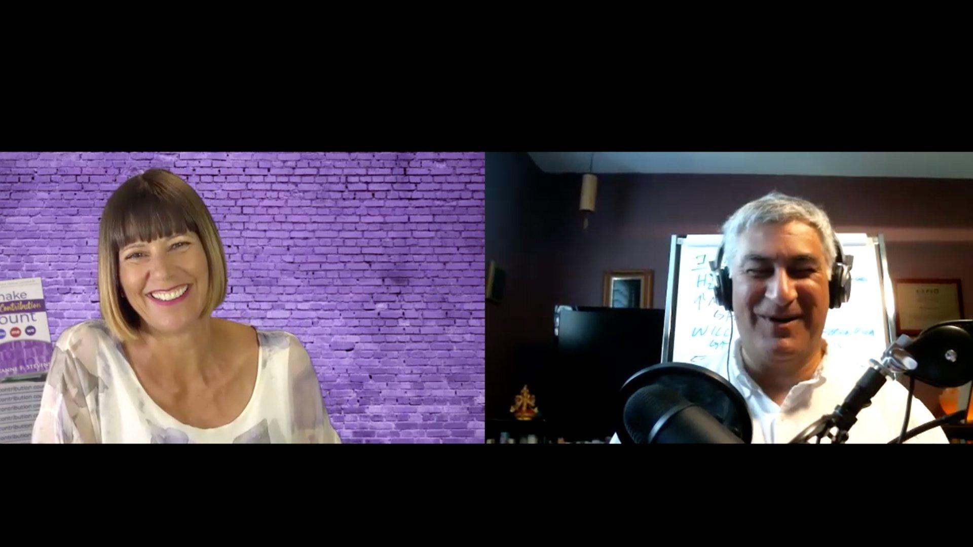Ravi Tangri interviews Suzanne F. Stevens for Soulgineering podcast