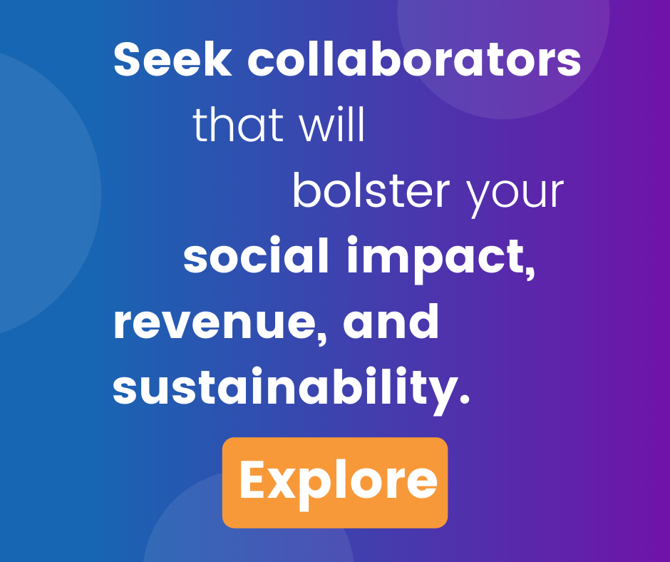 collaborators bolster social impact