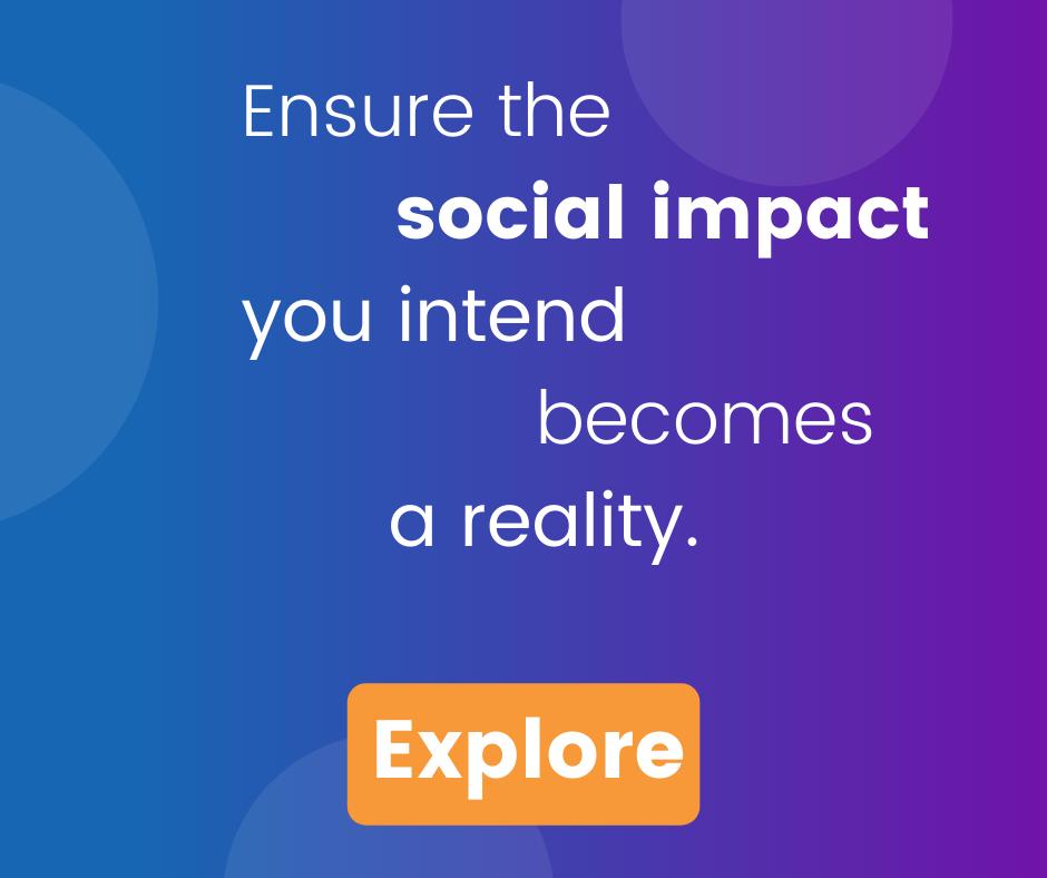 social impact reality
