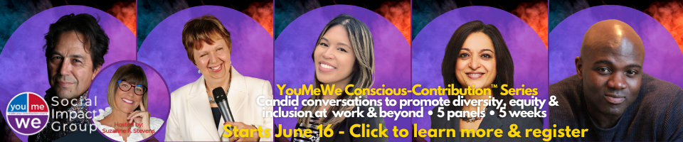 Register for YouMeWe Conscious-Contribution Panel Series: candid conversations to promote diversity, equity, and inclusion