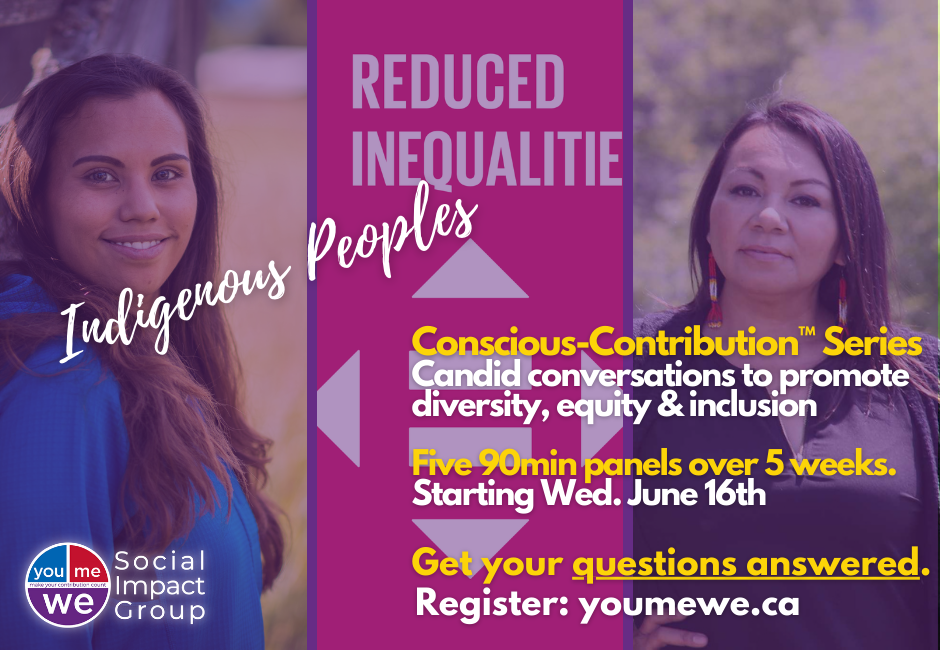YouMeWe Conscious-Contribution Panel Series: candid conversations to promote diversity, equity, and inclusion