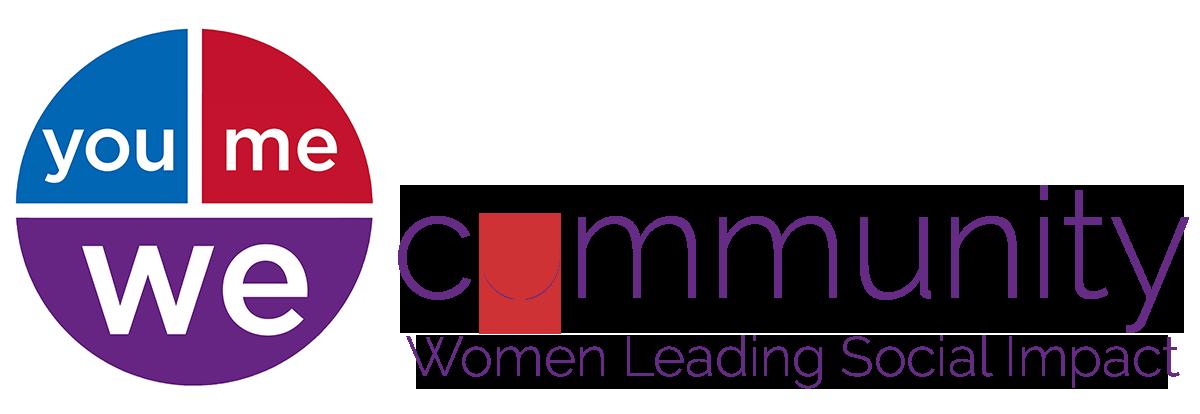 event sponsor: YouMeWe community: women leading social impact