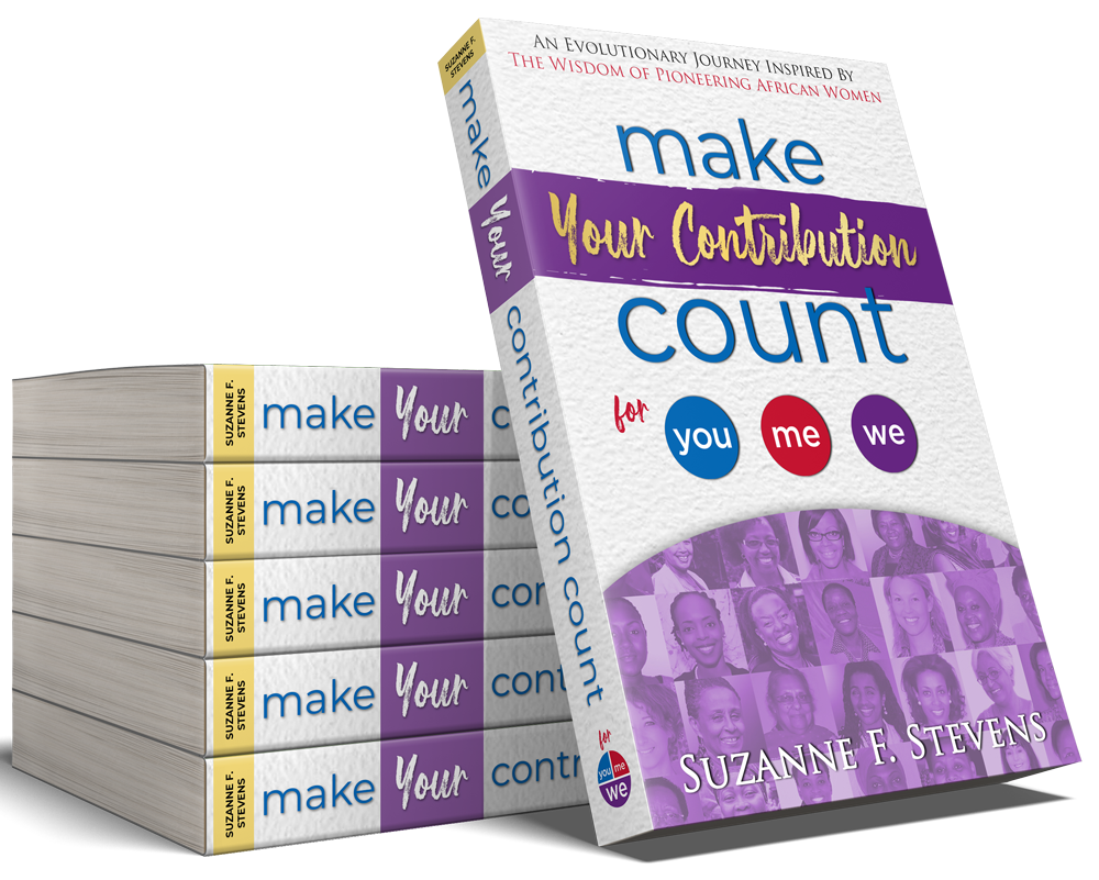 Make Your Contribution Count for you me we - book